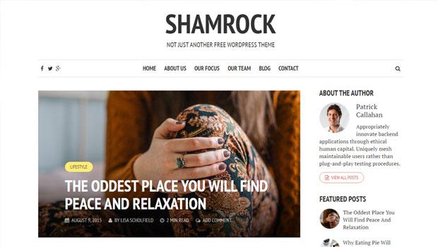 shamrock-wordpress-theme