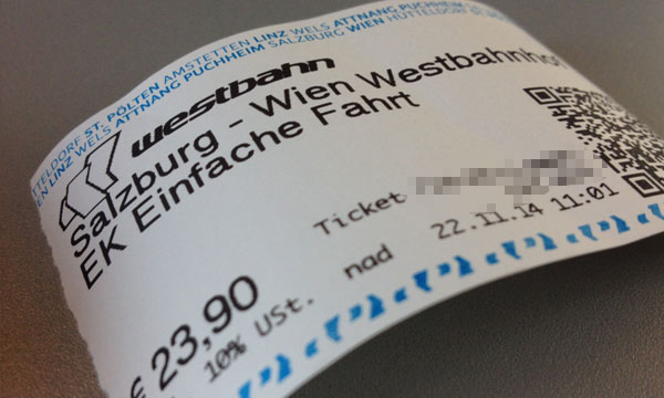 westbahn-ticket
